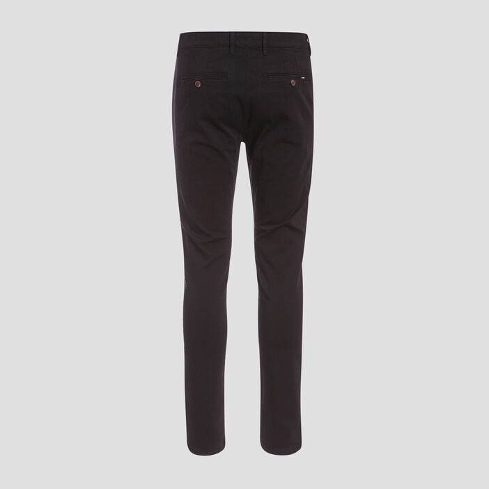 Pantalon éco-responsable noir homme
