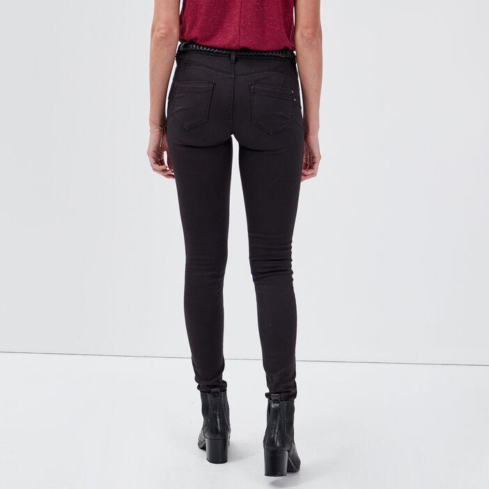 Pantalon Audrey - skinny push up gris foncé femme