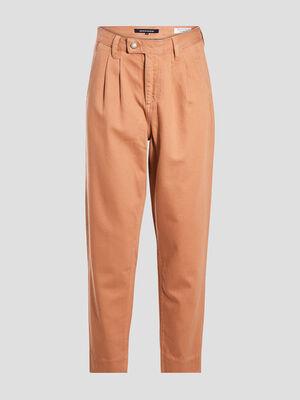 Pantalon slouchy 78eme marron clair femme