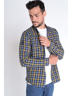 Chemise a carreaux multicolore homme