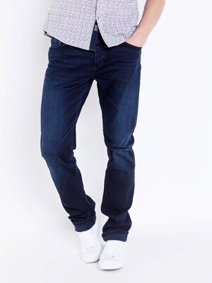 jeans straight homme l32 instinct denim brut