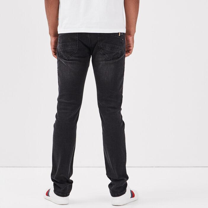 Jeans slim denim noir homme
