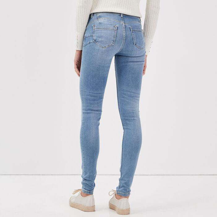Jeans Marylin - skinny push up denim used femme