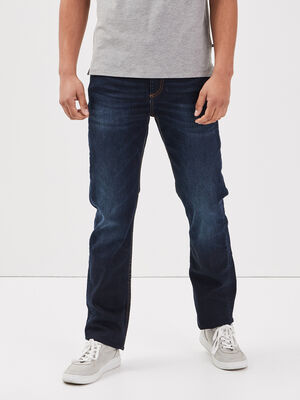 Jeans eco responsable regular denim brut homme