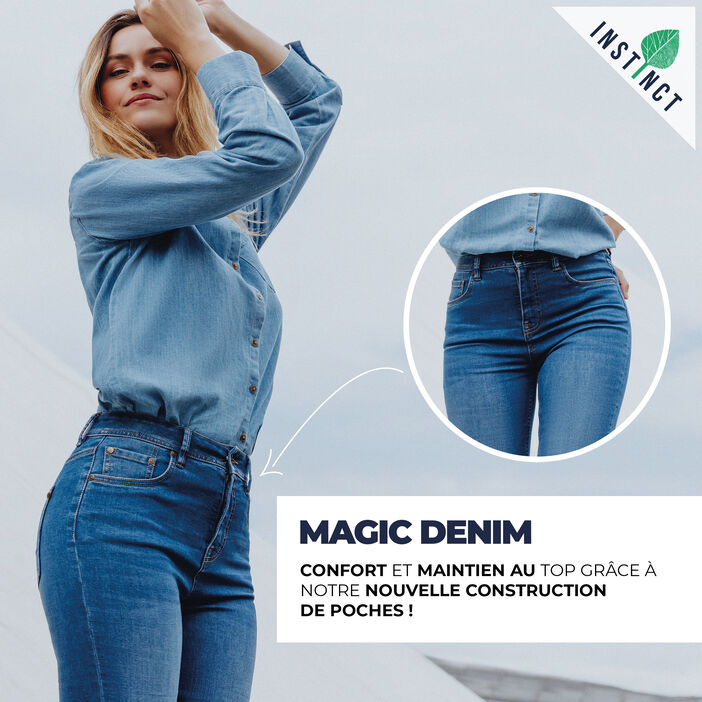 Magic Denim ! denim used femme