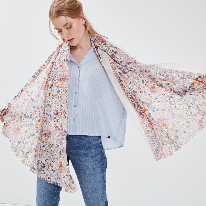 Foulard multicolore femme