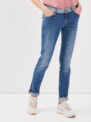 Jeans eco responsable denim stone femme