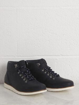 Boots bleu marine homme