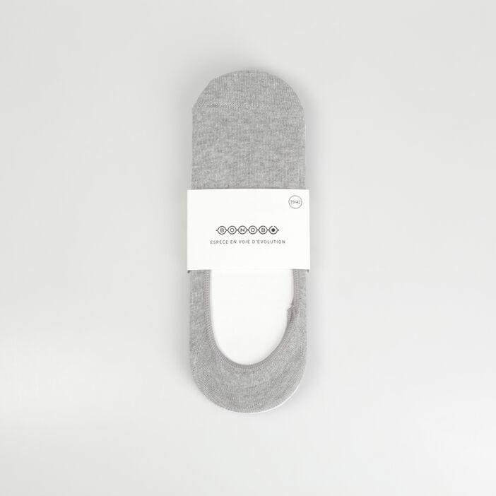 Pack 3 chaussettes gris clair homme