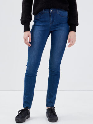 Jeans Lou  jegging en coton bio denim stone femme
