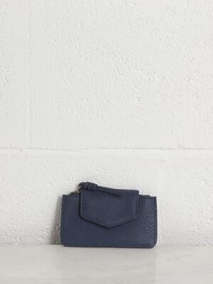 Pochette bleu fonce femme