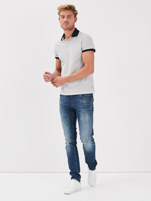 Hyper Stretch jeans slim denim dirty homme