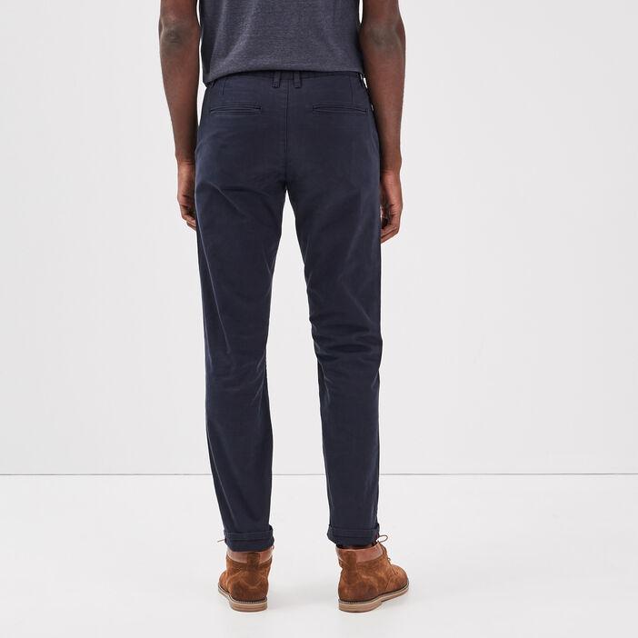 Pantalon straigth Instinct chino bleu foncé homme