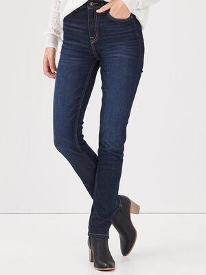 Jeans Ines  slim denim brut femme