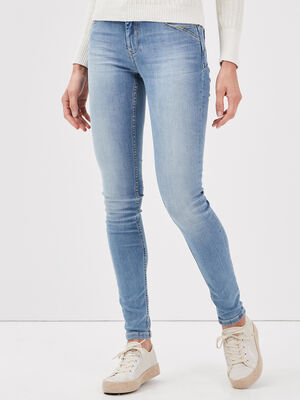 Jeans skinny push up denim used femme