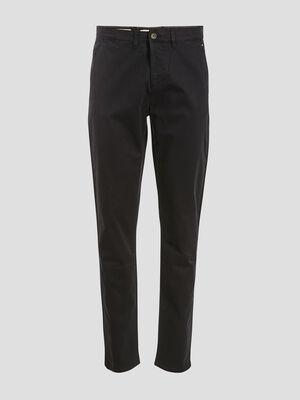 Pantalon slim Instinct chino noir homme