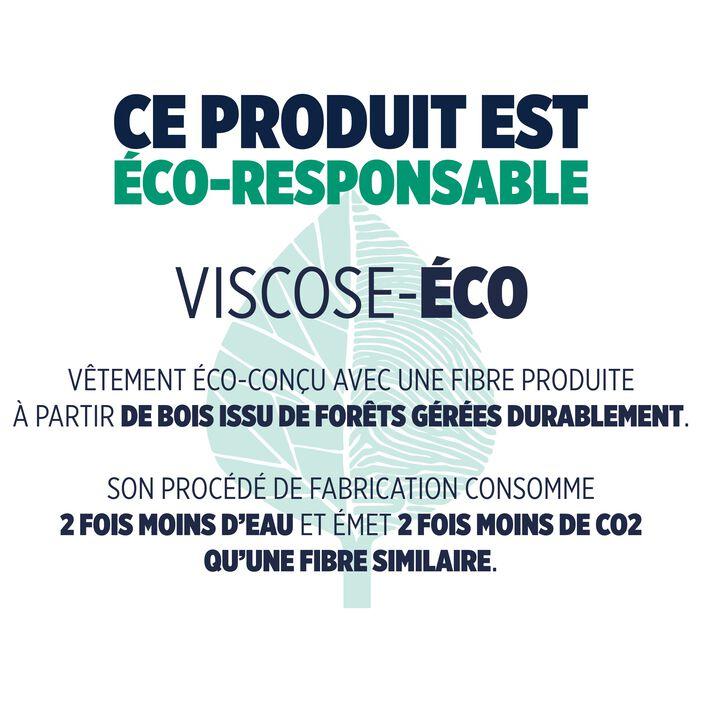 Blouse éco-responsable ecru femme