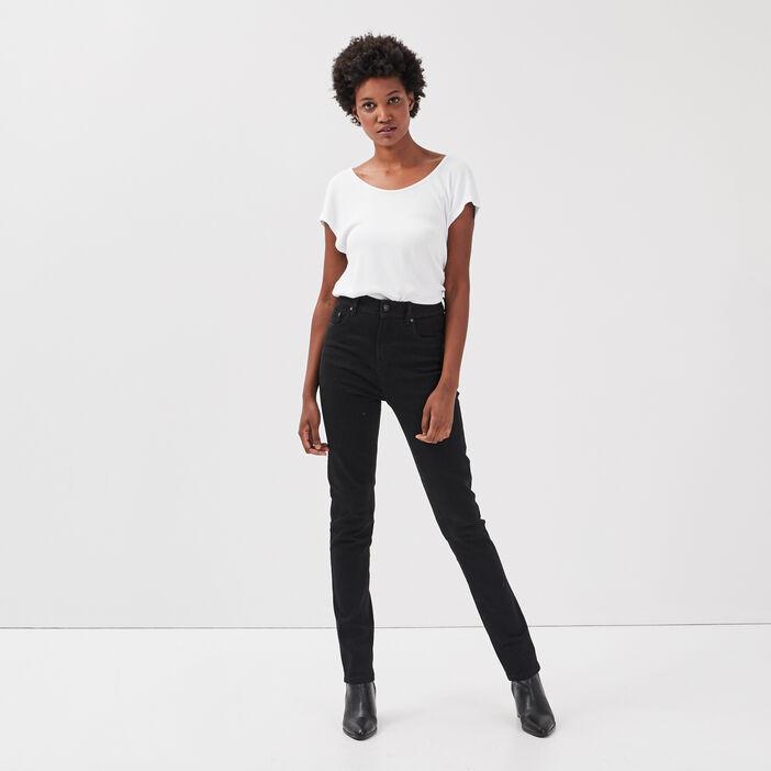 Jeans Ines - slim denim noir femme