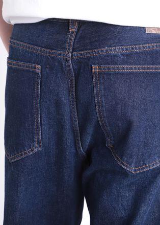 Jeans anti fit 5 poches denim brut homme