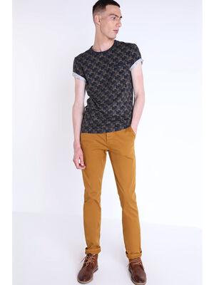 Pantalon chino regular Instinct camel homme