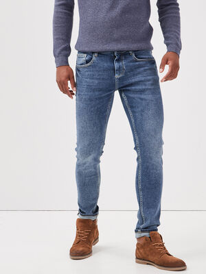 Jeans skinny denim used homme