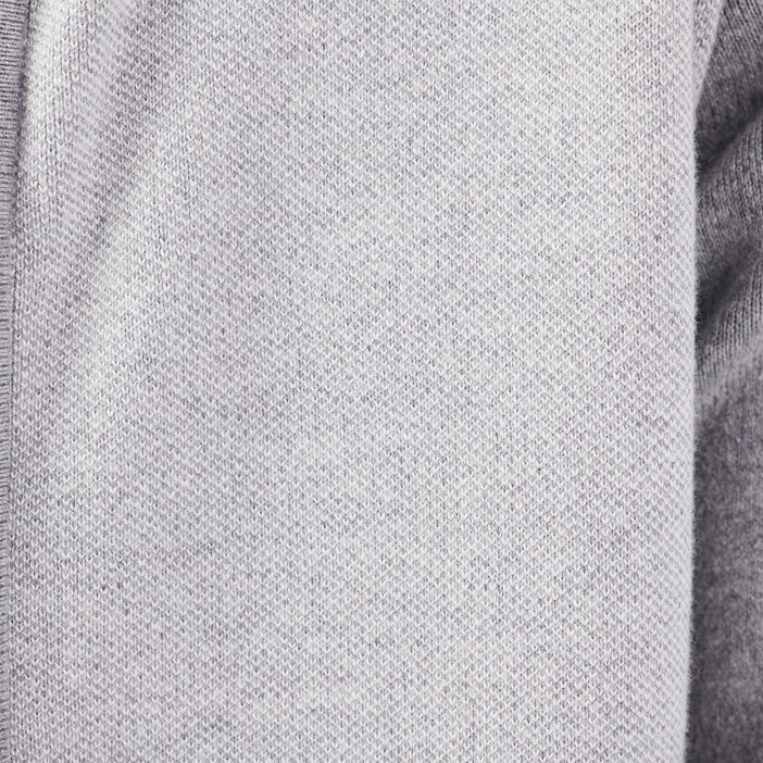 Gilet manches longues gris foncé homme