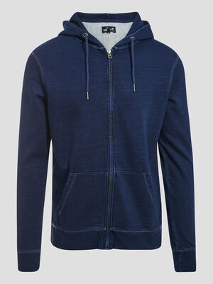Sweat eco responsable denim used homme