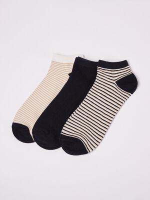 Lot 3 paires de chaussettes beige homme