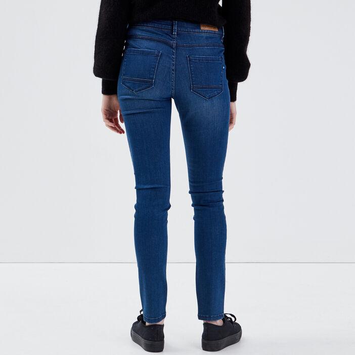Jeans Lou - jegging en coton bio denim stone femme