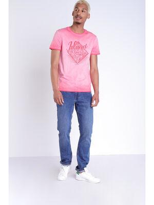 Jeans Instinct straight denim stone homme