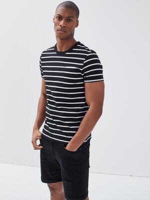 T shirt eco responsable noir homme