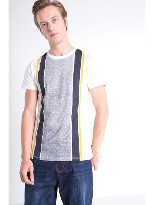 T shirt Instinct ajuste blanc homme