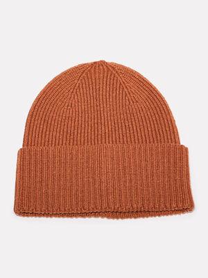 Bonnet tricote camel homme