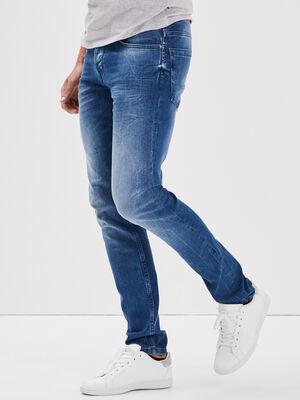Jeans slim denim baby bleu homme
