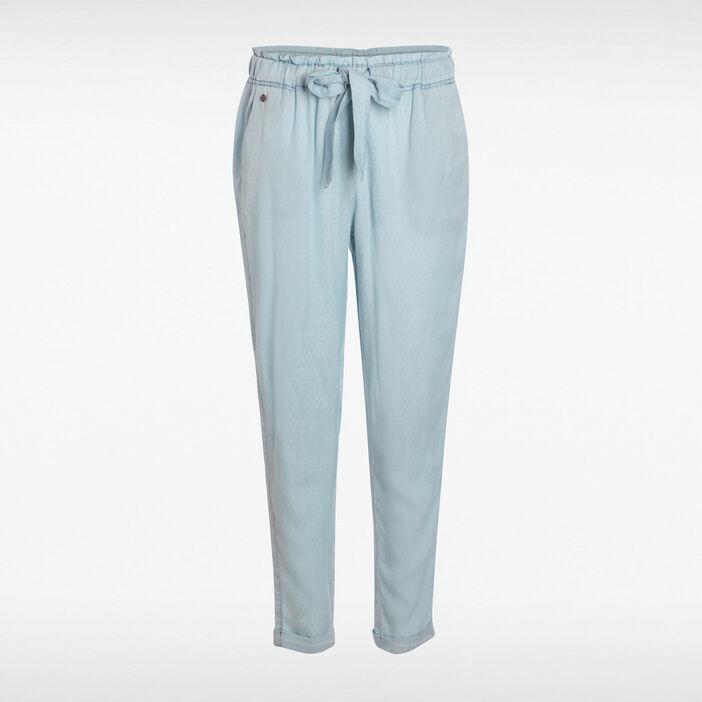 new lower prices exquisite design cheapest Pantalon large denim used femme | Vib's