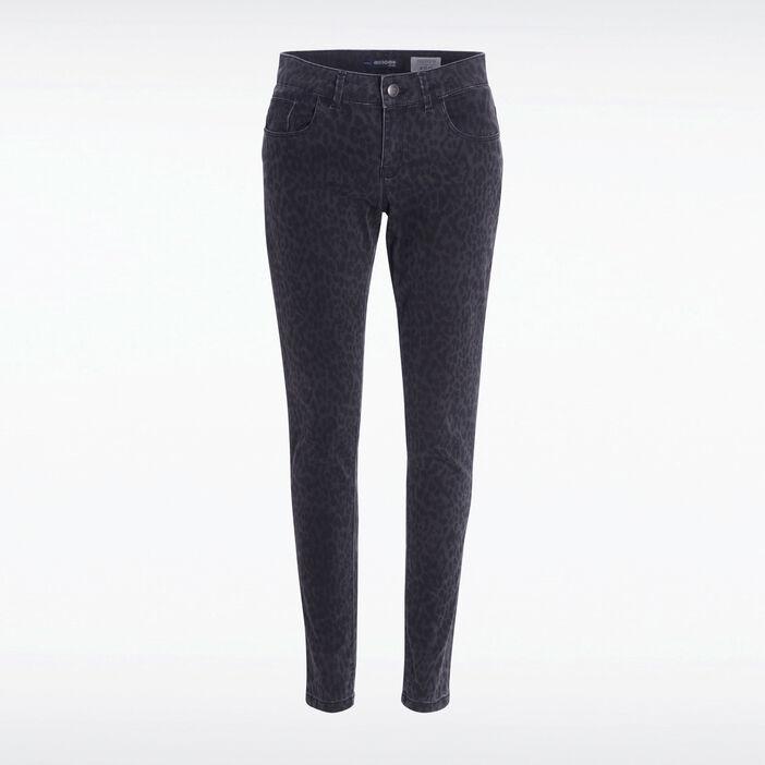 profiter de prix discount magasiner pour le meilleur nouveau design Pantalon skinny 5 poches denim noir femme