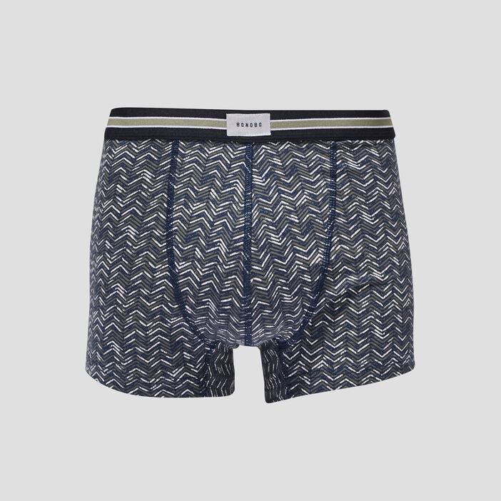 Lot 2 boxers bleu marine homme