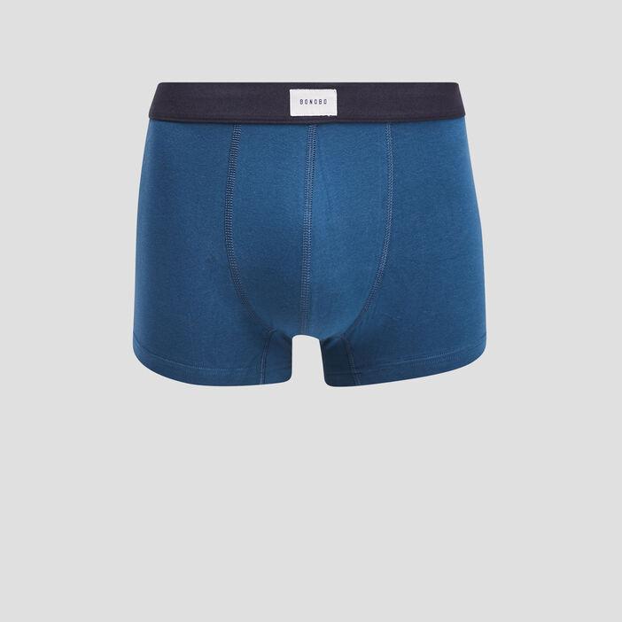 Lot 2 boxers bleu foncé homme