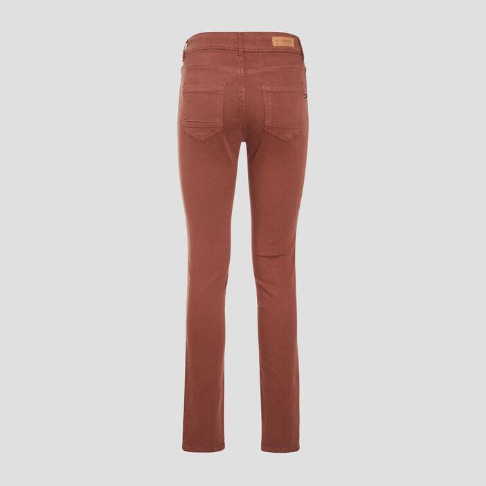 Pantalon Marion - Slim marron foncé femme