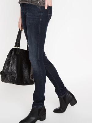 jeans femme slim denim brut