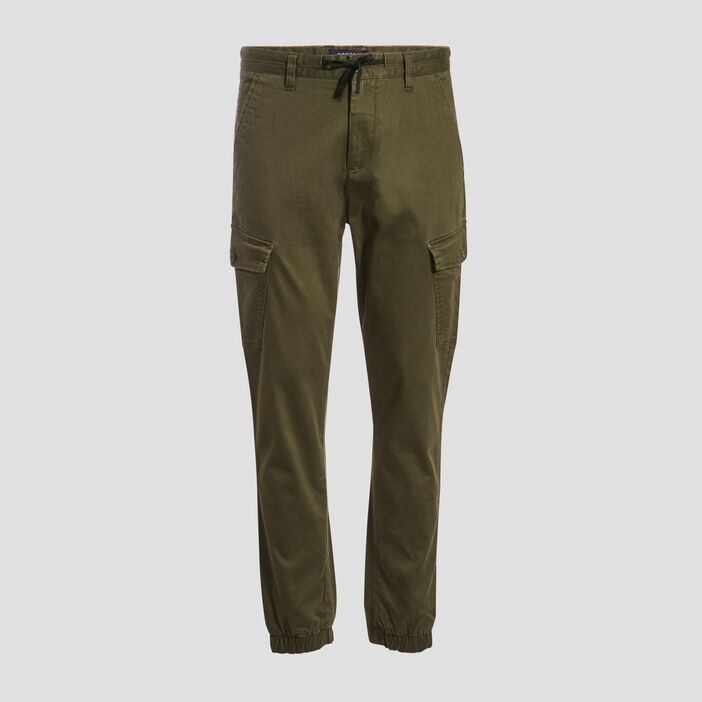 Pantalon battle vert kaki homme