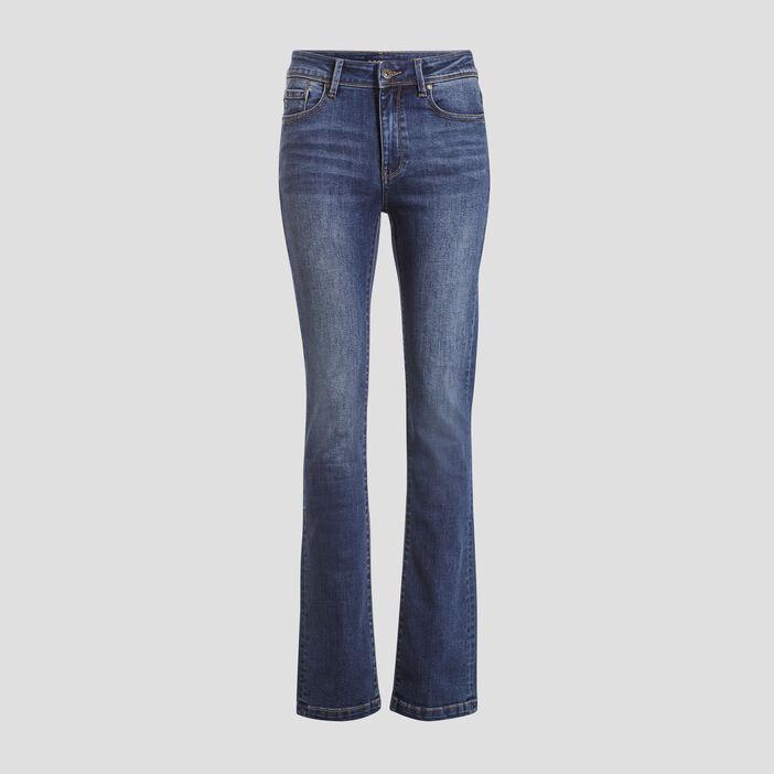 Jeans bootcut éco-responsable denim stone femme