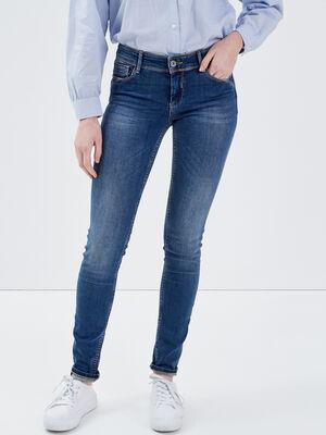 Jeans Marylin  skinny push up denim stone femme