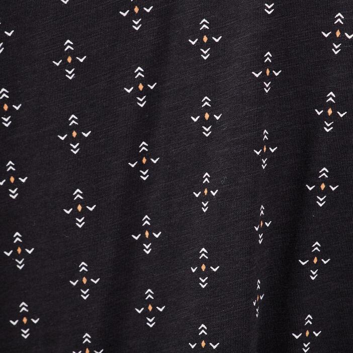 T-shirt éco-responsable noir femme
