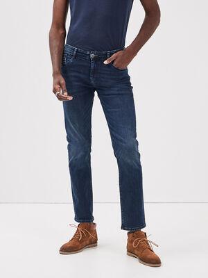 Jeans straight L32 Instinct denim stone homme