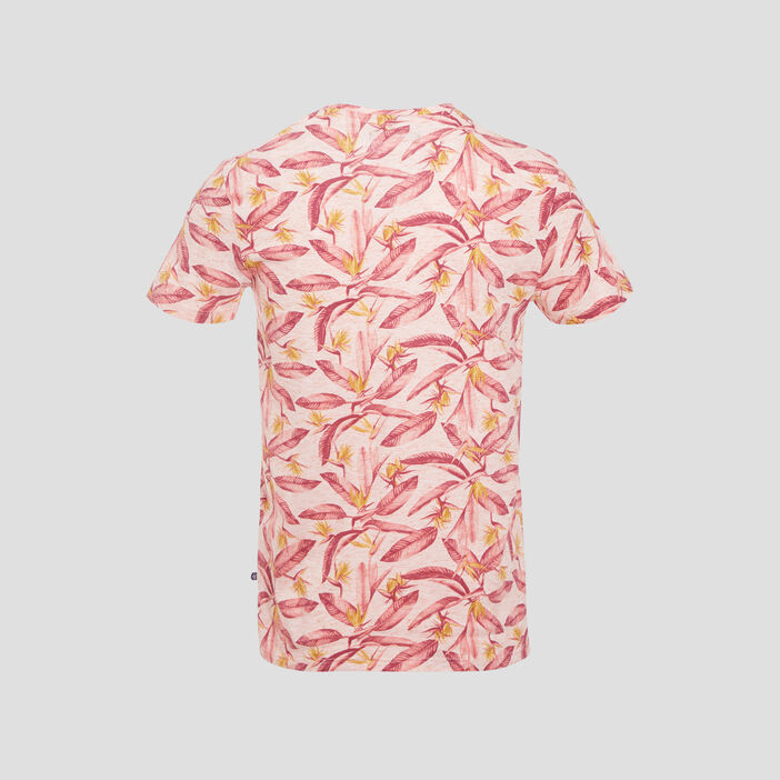 T-shirt manches courtes ecru homme