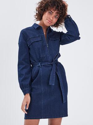 Robe en jean eco responsable denim brut femme