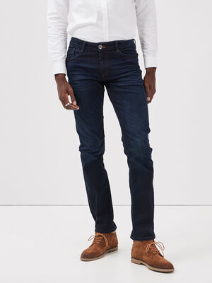 Jeans straight L34 Instinct denim brut homme