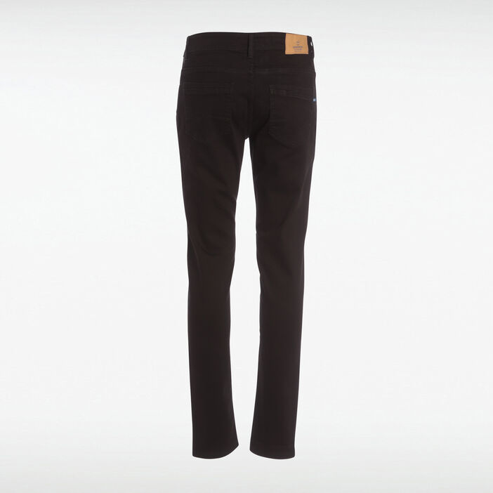 Jeans slim effet used Instinct denim noir homme