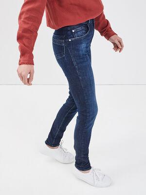 Jean recycle skinny denim brut femme